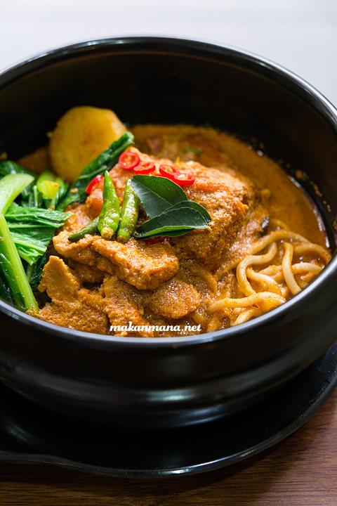 Berkah Vegetarian noodle curry Berkah Vegetarian, Jalan Serdang Ujung