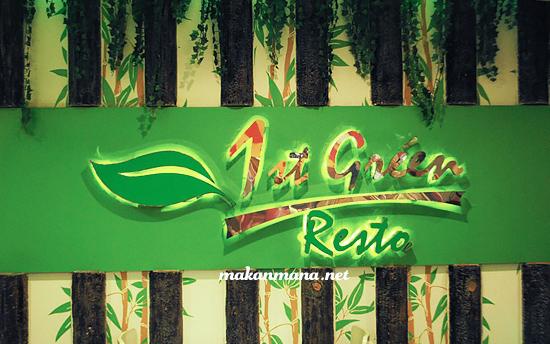 1st Green Resto Medan vegetarian 1st Green Resto Vegetarian