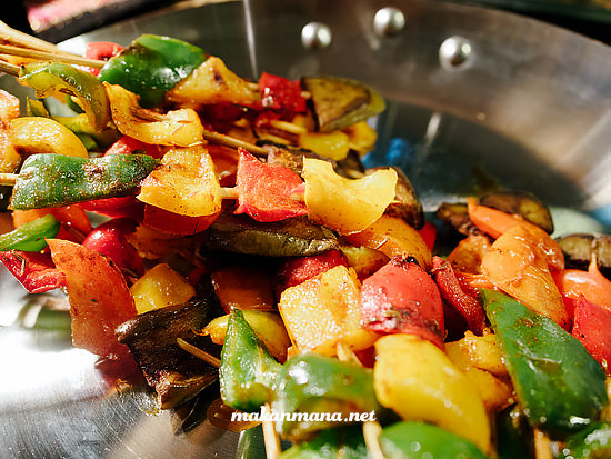 mixed grilled vegetable