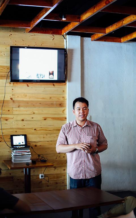 Slideshow presentation