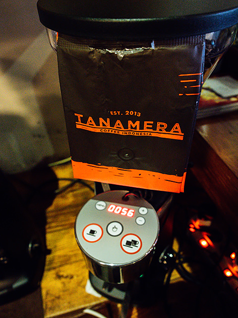 Beans supported by Tanamera coffee