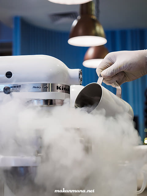 liquid nitrogen kitchenaid
