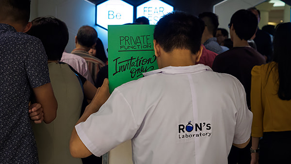 Ron's Laboratory Medan Grand Opening (Closed) 1