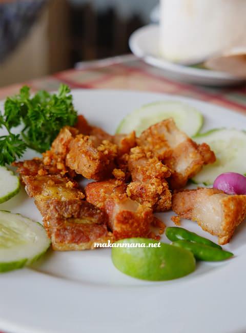 daging goreng garlic