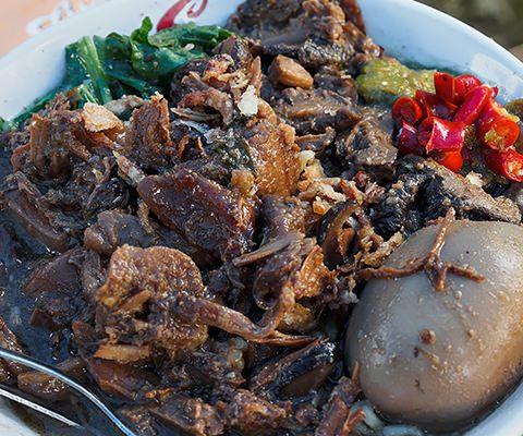 Mie ayam jamur Amigos H. Mardi 1