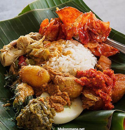 Nasi sayur Cina Padang, Pasar Beruang 1