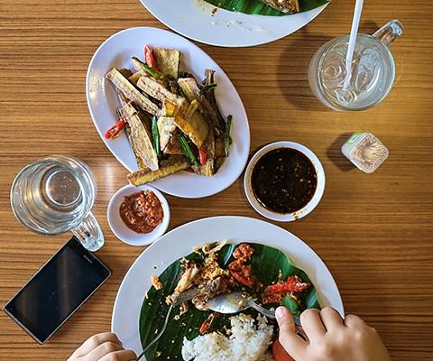 Lesehan Bambu Indonesian Food, Plaza Medan Fair 1