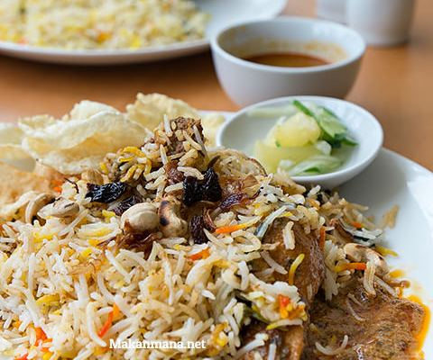 JM Bariani House, Malaysian food 1