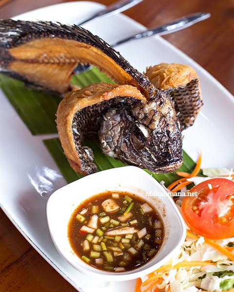 ikan goreng somtam thai medan