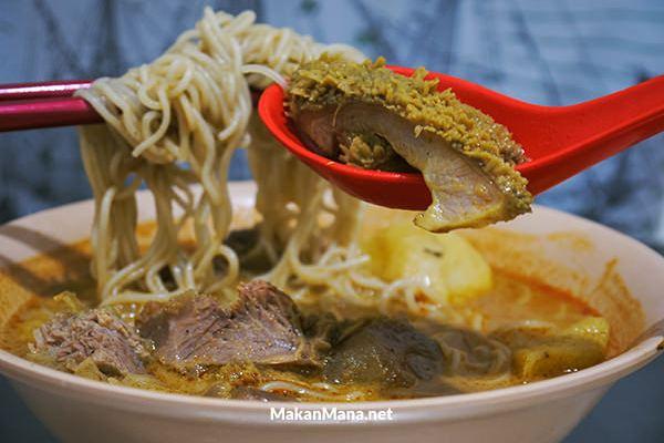 Kari Bihun Tabona, The Best Curry in Medan 1