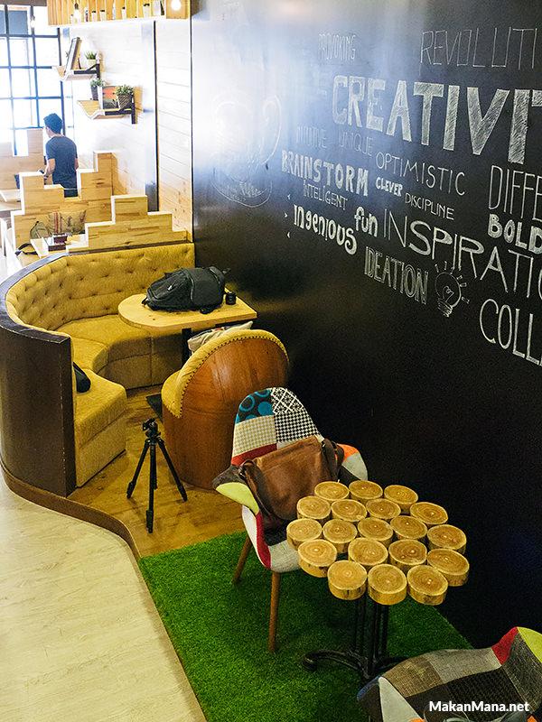 cozy cafe in medan