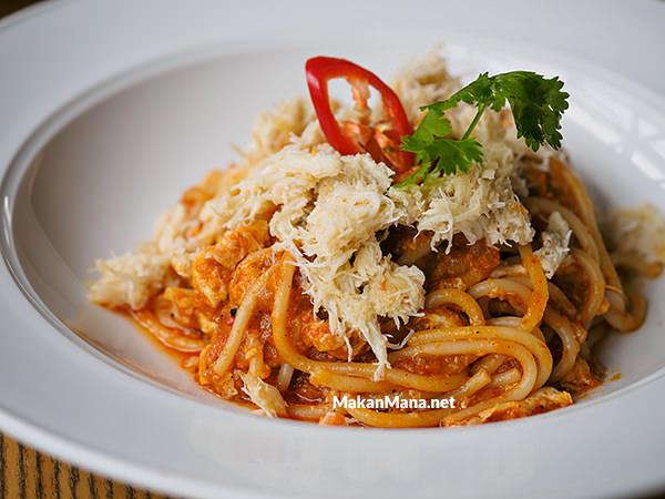 singapore chili crab pasta
