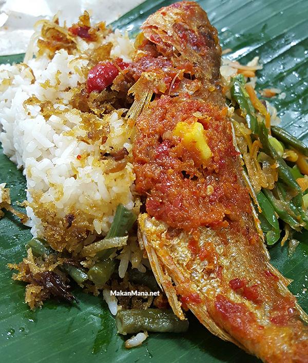 nasi lemak sambal ikan