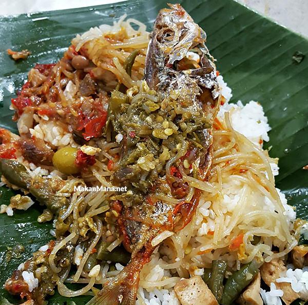 Nasi Sayur Pedas Malaka