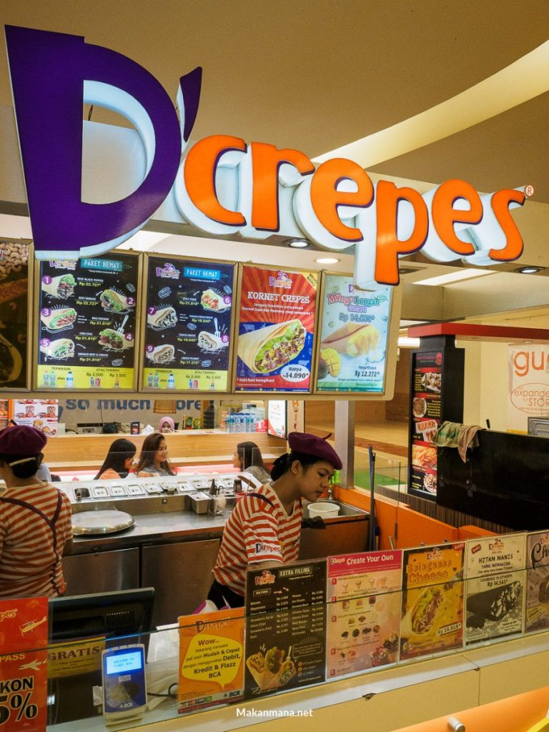 outlet dcrepes mal sun plaza