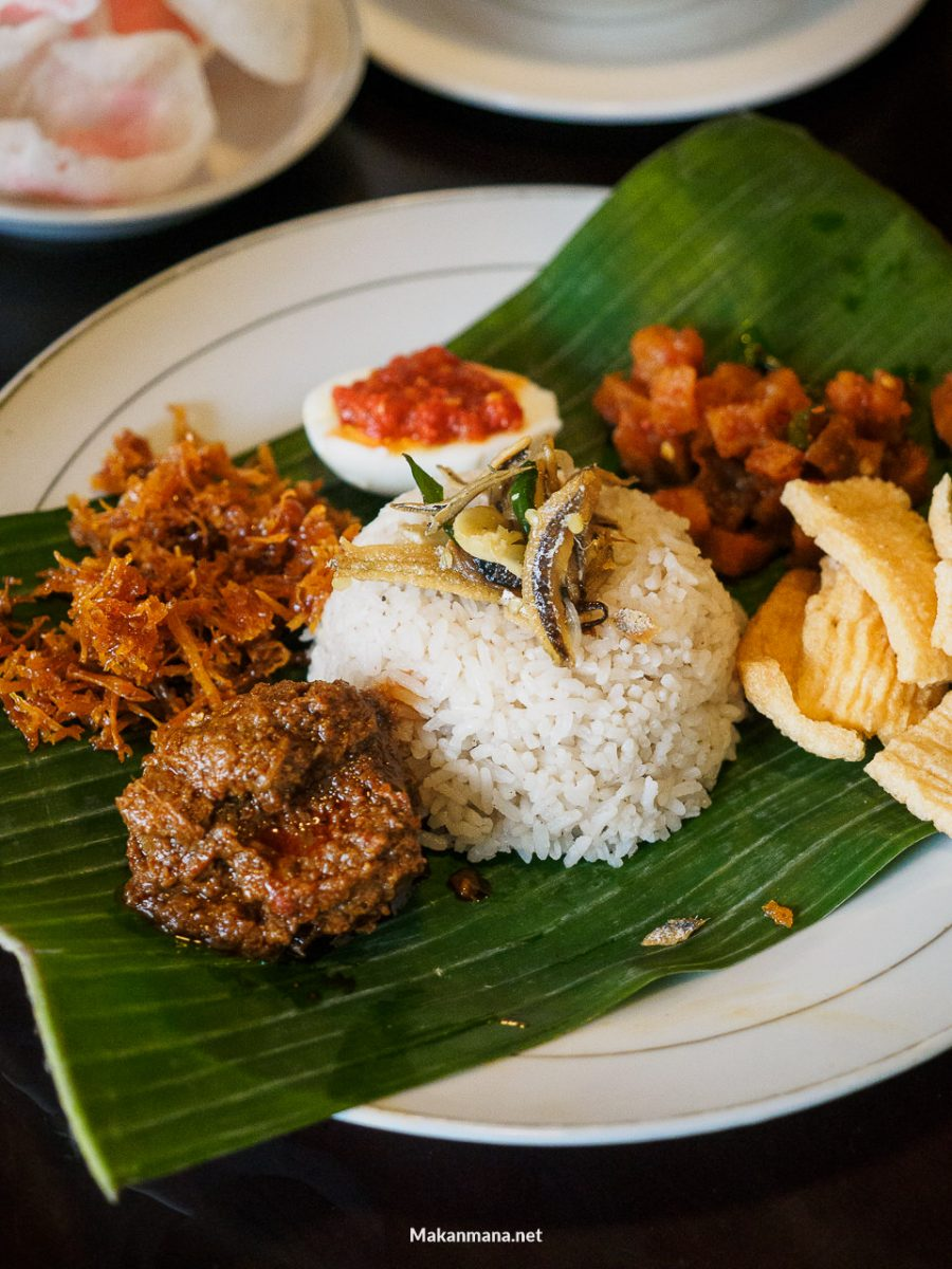 potbelly bistro nasi sayur rendang