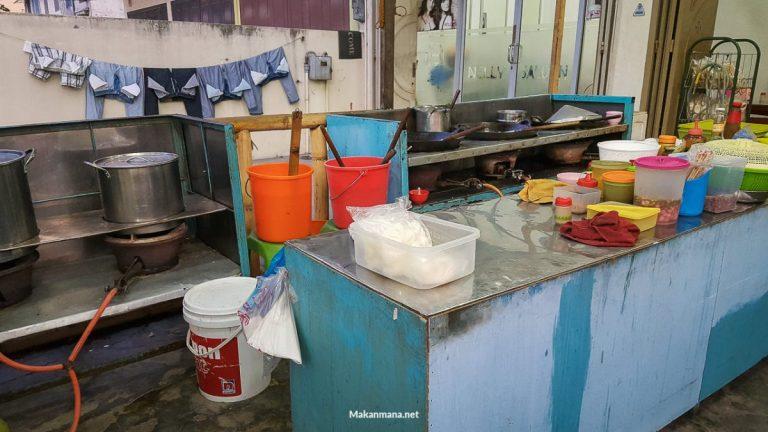 Dapur terbuka Chinse Food Asen