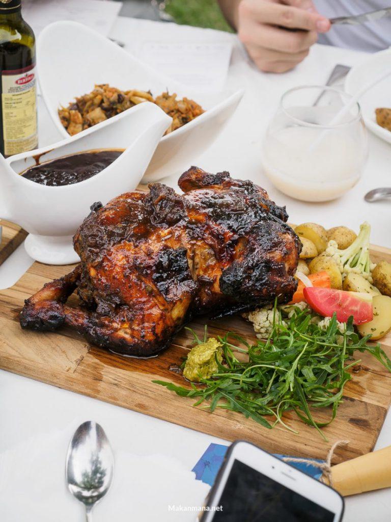 truffle chicken roast