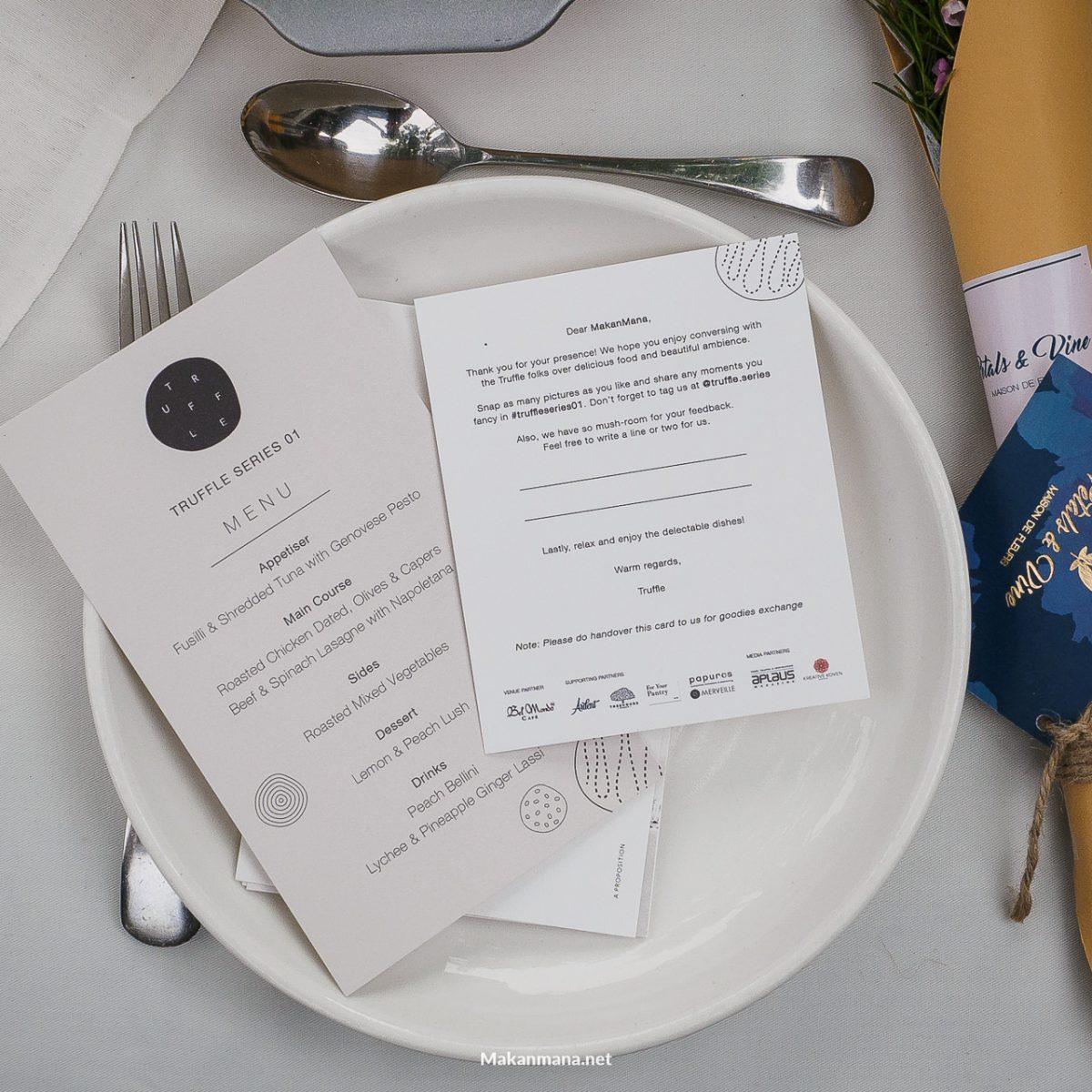 truffle invitation