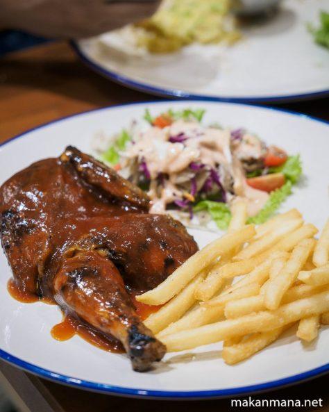 monks roast chicken