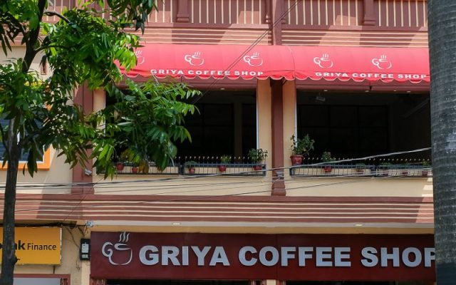 Griya Coffee Shop, a 6 month old coffee shop in town. 1