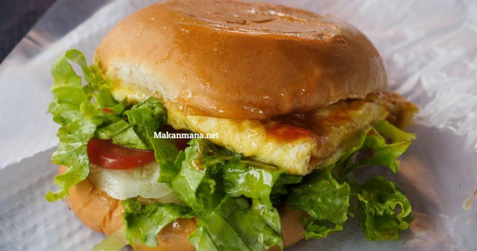 Burger murah meriah tapi enak? Sei Putih jawabannya 1