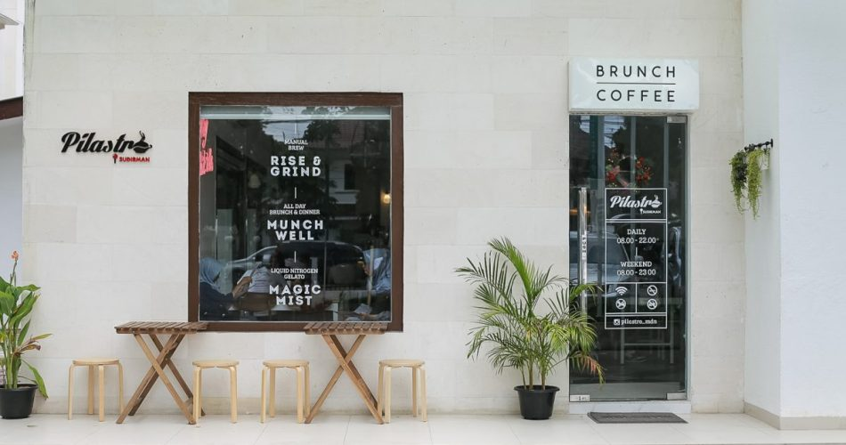 Banking over Coffee at Pilastro Sudirman 1