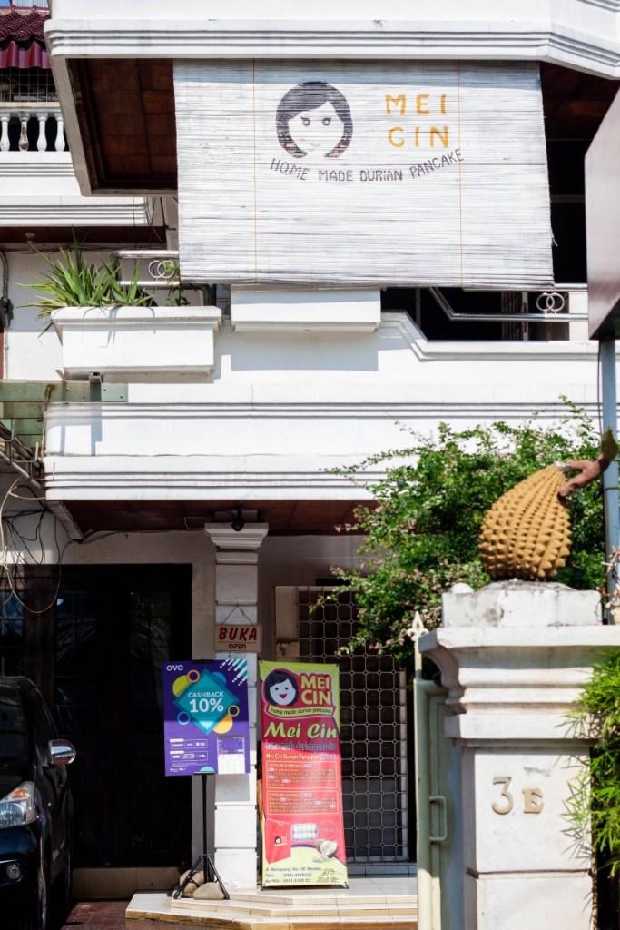 mei cin pancake durian
