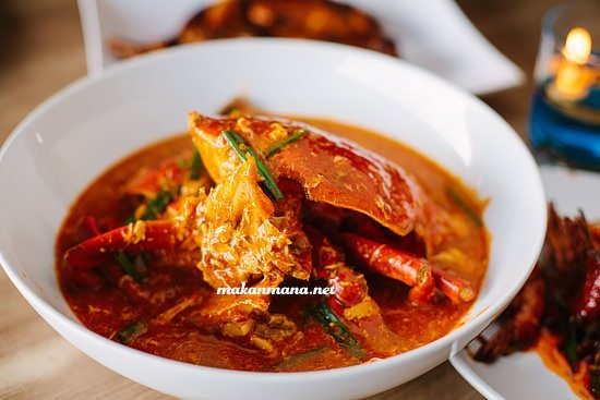 crab in spicy sauce lembur kuring