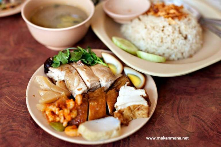 nasi ayam hainam asli selat panjang sp 10 kuliner medan