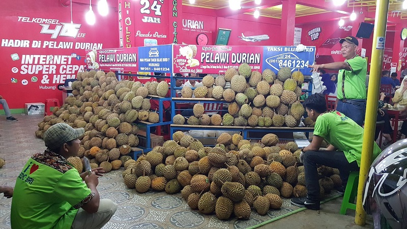 pelawi durian kuliner medan