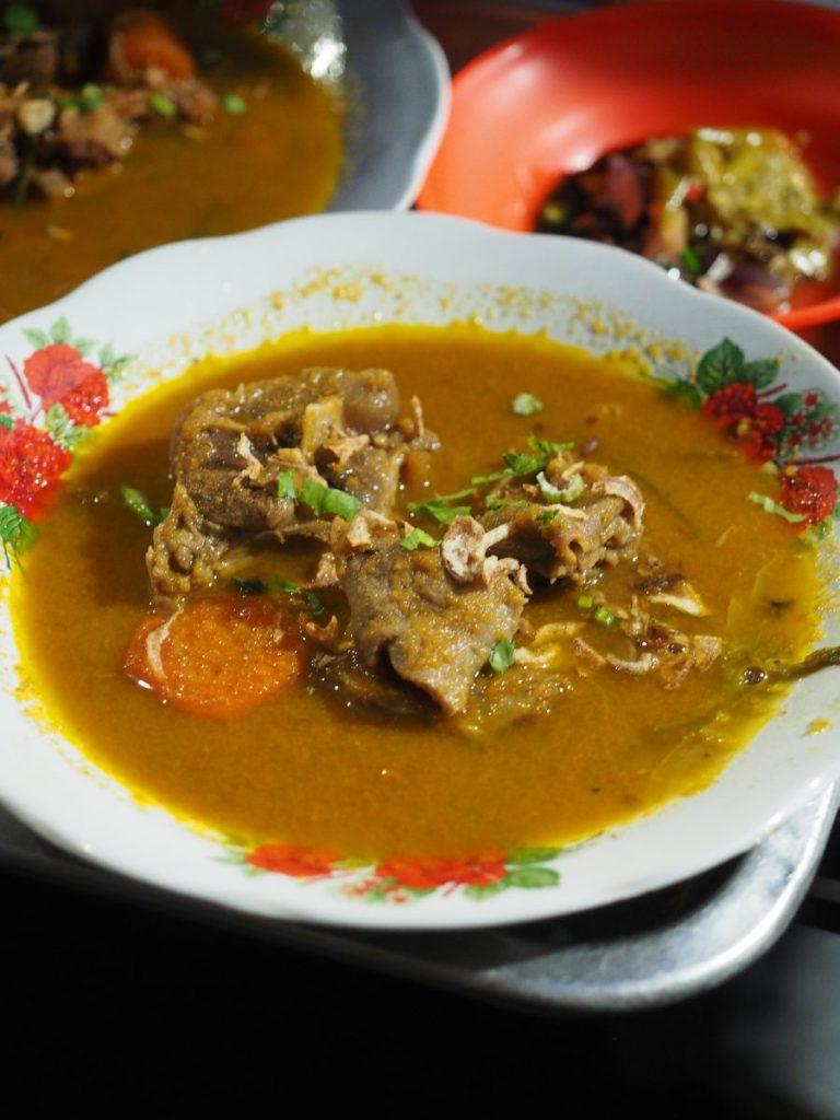 sup kambing kumango