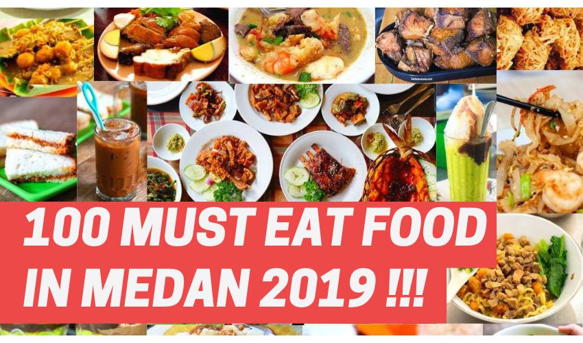 100 Must Eat Local Street Food in Medan 2019! 1