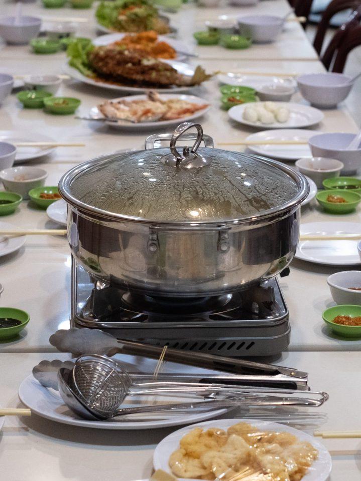 Renovasi RM AdoeA Seafood Restaurant yang Mengejutkan di awal tahun 2020. 4