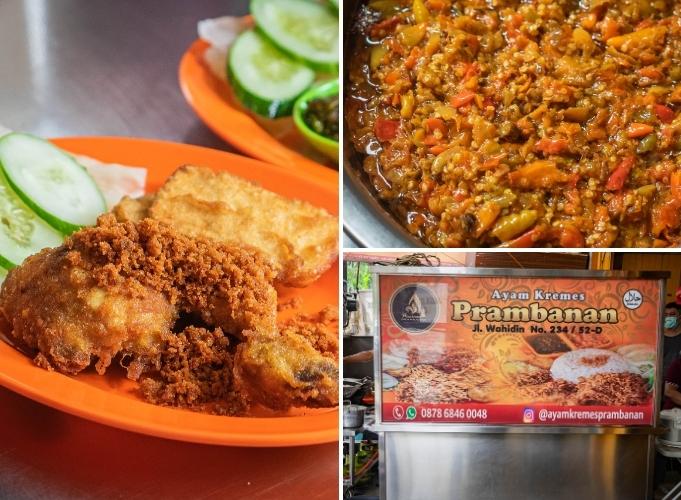 Ayam Kremes Super Lembut di Ayam Kremes Prambanan