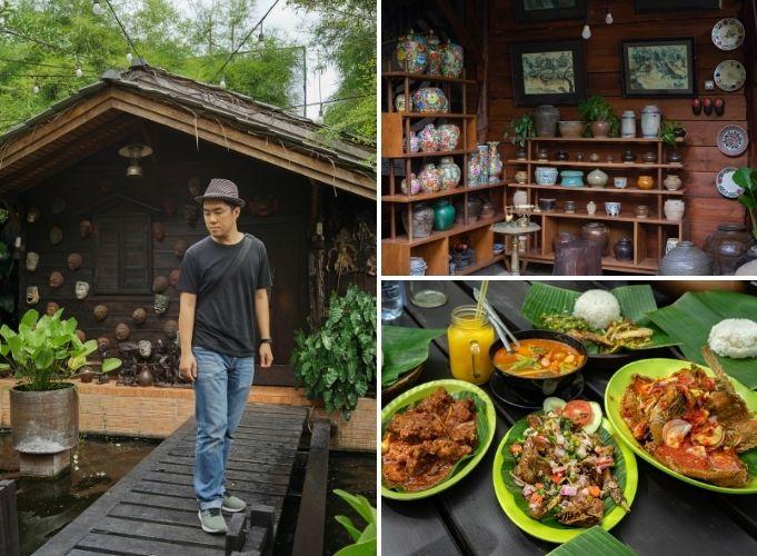 Restoran Dengan Nuansa Pedesaan, Resto Ayam Cabe Hijau