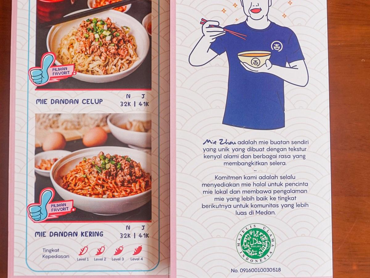 mie zhou halal kuliner medan