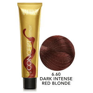 Concept Ultimax Advanced Hair Color 6.60 Dark Intense Red Blonde Tube 60 gr