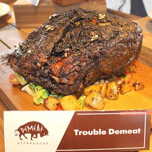 DeMeat Steak House & NOX Coffee Boutique - Trouble Demeat