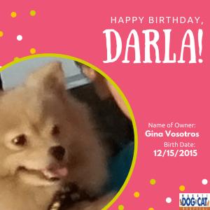 Happy Birthday, Darla!