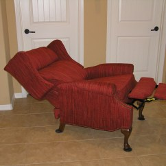 Reclining Wingback Chair Truck Bed Chairs Recliners Mak Designs