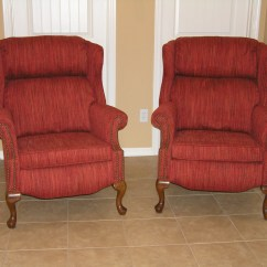 Wing Chair Recliner Leather Theseus Fishing Wingback Recliners Mak Designs