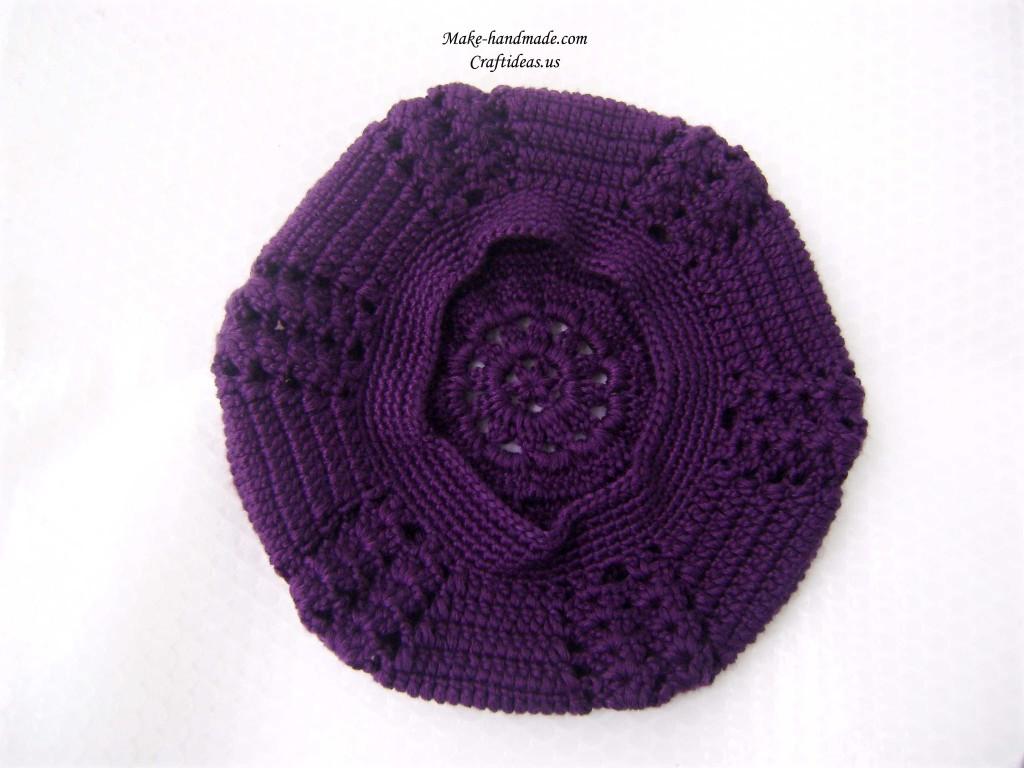 Crochet Beret Make Handmade Crochet Craft