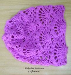 crochet wave hat [ 1024 x 768 Pixel ]
