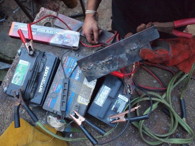 Car Battery Welding Make