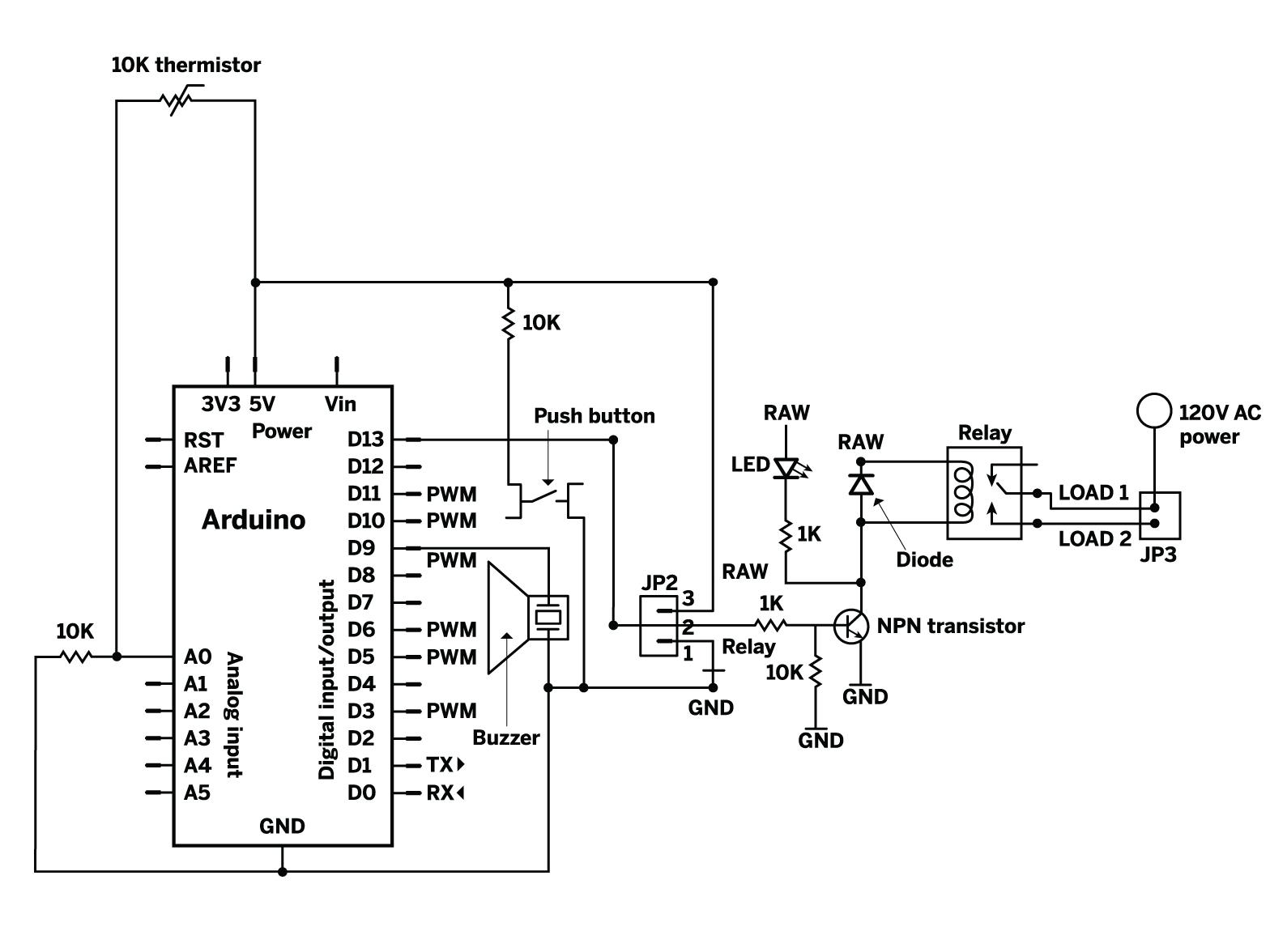 Arduino Wiring Diagram Creator, Arduino, Free Engine Image