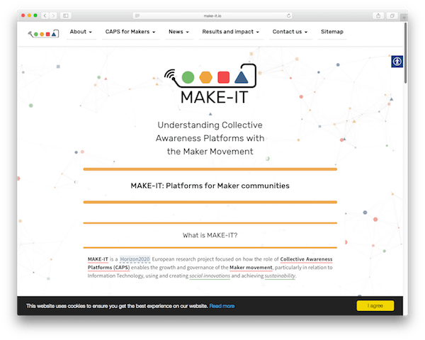 MAKE-IT website v0.2