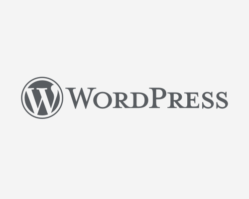 WordPress Logotype - Standard