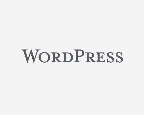 WordPress Logotype - Word Mark