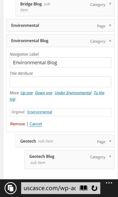 "Tap ""under Environmental""."